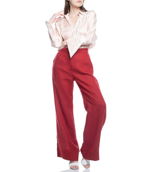 Picture of TROUSERS RED WITH BACK POCKETS, Picture 2