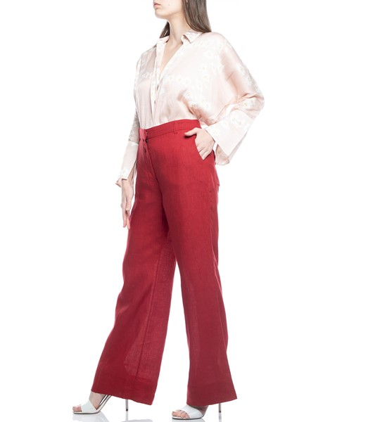 Picture of TROUSERS RED WITH BACK POCKETS, Picture 5