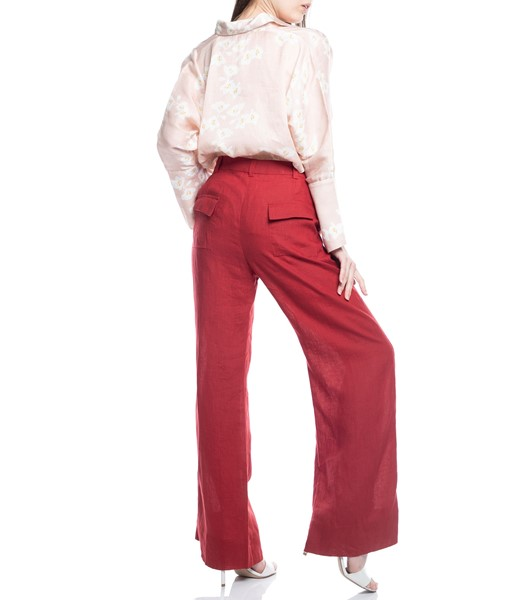 Picture of TROUSERS RED WITH BACK POCKETS, Picture 6