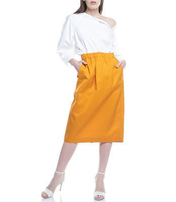 Picture of SUSY STRAIGHT SKIRT WITH ELASTIC SLID