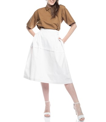 Picture of SUN TWILL YOKE SKIRT