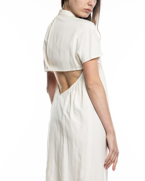 Picture of OPEN BACK FRONT PLEATED DRESS, Picture 4