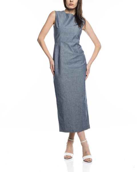 Picture of CHAMBRAY ARCADIA STRAIGHT DRESS, Picture 1