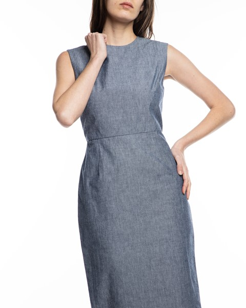 Picture of CHAMBRAY ARCADIA STRAIGHT DRESS, Picture 3