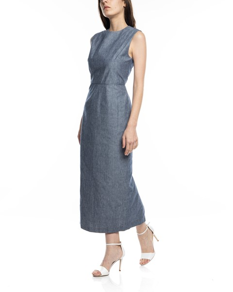 Picture of CHAMBRAY ARCADIA STRAIGHT DRESS, Picture 4