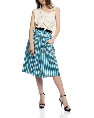 Picture of MARGOT SKIRT STRIPE