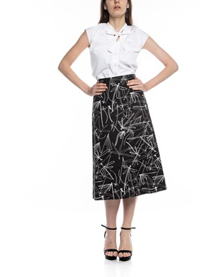 Picture of ALINE PRINTED SKIRT