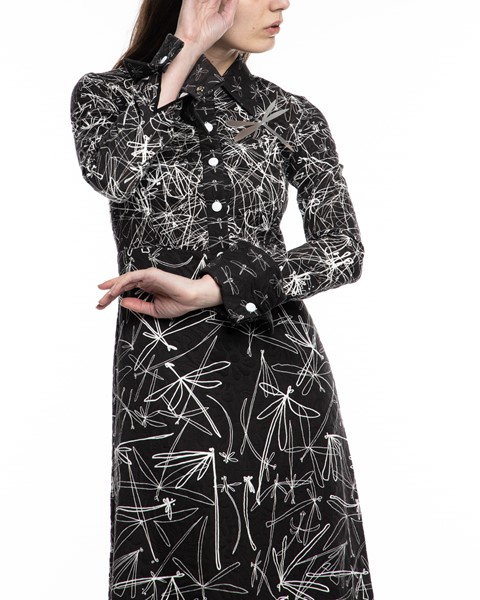 Picture of LONG SLEEVE SHIRT DRESS WITH METAL DRAGON METAL, Picture 4