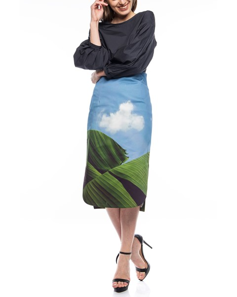 Picture of PENCIL SKIRT WITH SIDE SLITS, Picture 2