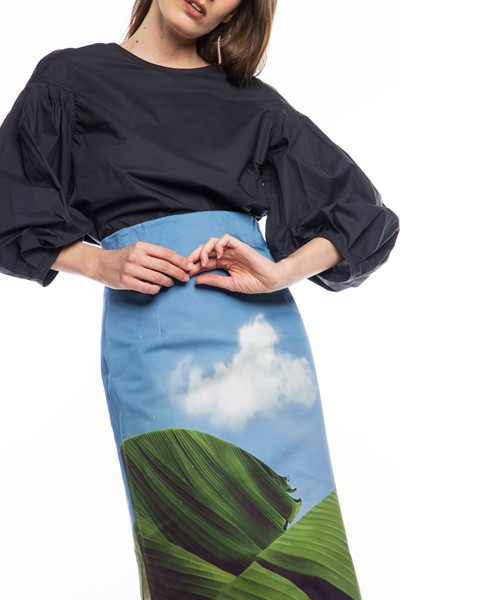 Picture of PENCIL SKIRT WITH SIDE SLITS, Picture 3